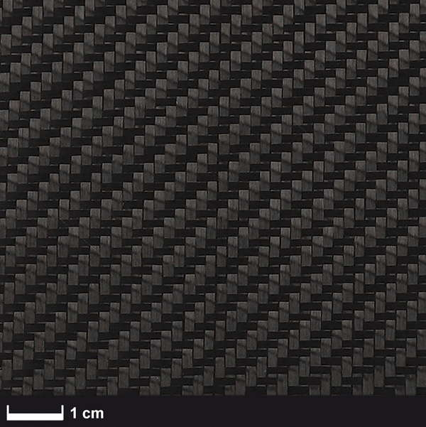 product image: Carbon fabric 200 g/m² (style 452-5 Aero, twill weave) 100 cm