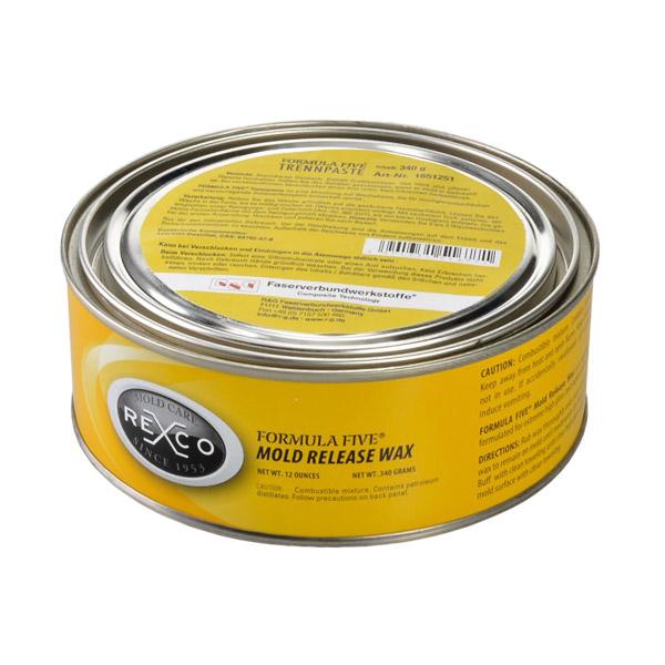 FORMULA FIVE® Mold release wax, 340 g