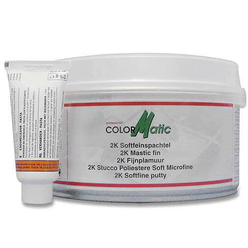 Artikelbild: Colormatic 2K Softfeinspachtel weiß, 1 kg