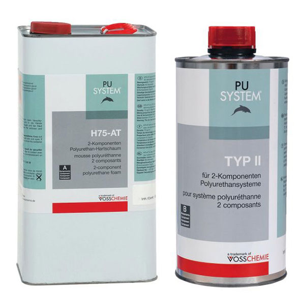 product image: Rigid PU Foam H75-AT + Hardener TYPE 2 (set of two comp.)