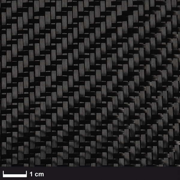 product image: Carbon fabric 160 g/m² (twill) 100 cm