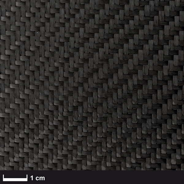 product image: Carbon fabric 200 g/m² (twill weave) 100 cm