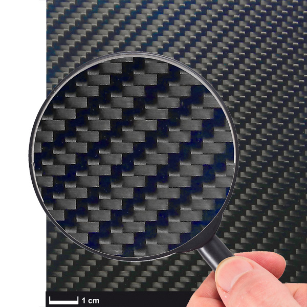 product image: Carbon fibre sheet ECOTECH™, 1400 x 1000 mm