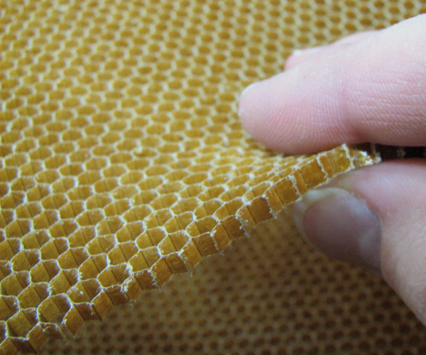 product image: Aramid honeycomb 29 kg/m³ (Aero) 1120 x 1220 mm <br>cell size: 3.2 mm