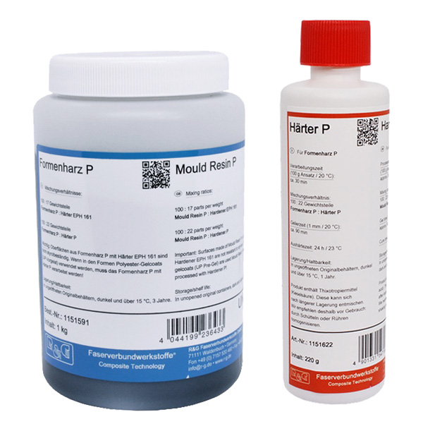 product image: Mould Resin P + Hardener P (30 min)