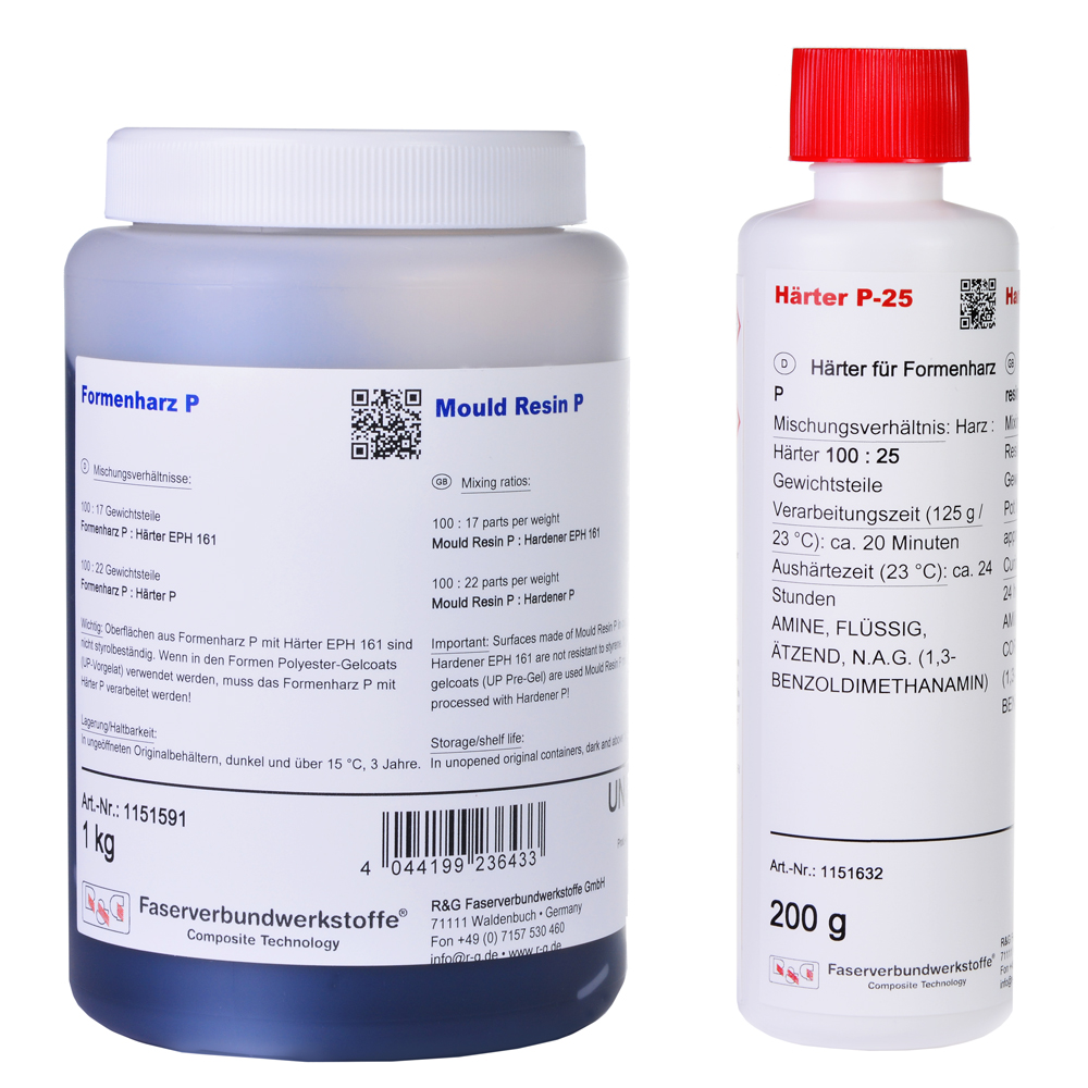 product image: Mould Resin P + Hardener P-25 (20 min)