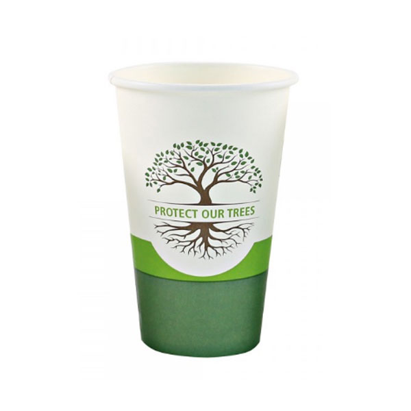 product image: Organic disposable mixing cup 300 ml (paper), 50 pcs