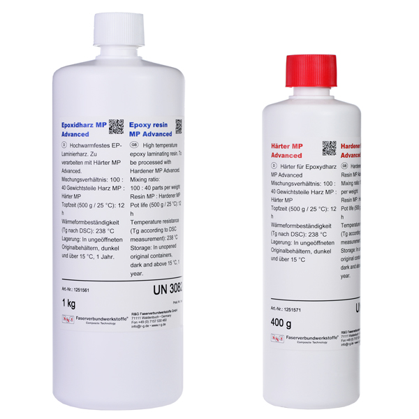 product image: Epoxy Resin MP Advanced + Hardener MP Advanced