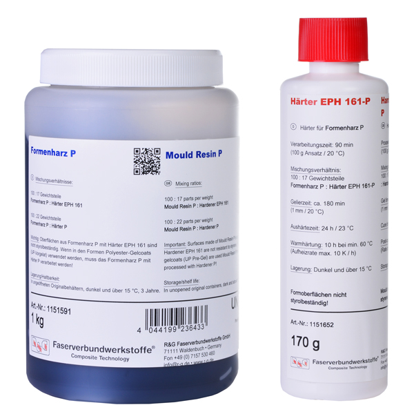product image: Mould Resin P + Hardener EPH 161-P (90 min)