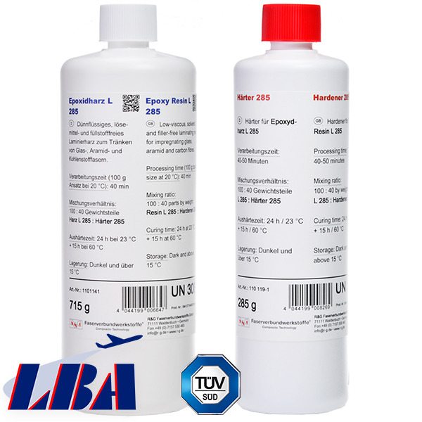 product image: Epoxy Resin L 285 + Hardener 285 (50 min / Aero)