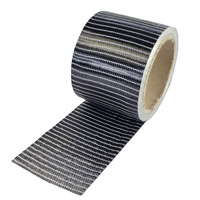 product image: Carbon fibre tape 250 g/m² (unidirectional) 75 mm