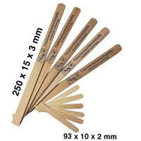 product image: Wooden mixing spatulas