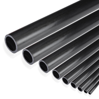 product image :Carbon fibre tubes pultruded