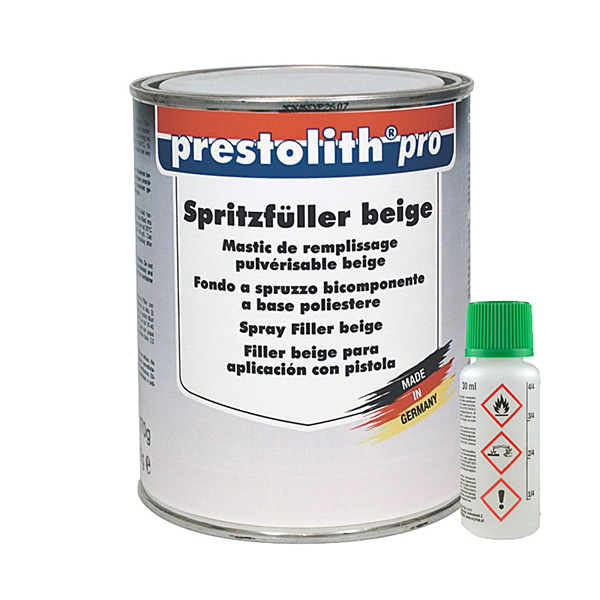 product image: Prestolith pro Spray Filler beige, 1.5 kg