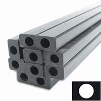 product image: Carbon rectangular tube pultruded, inside round