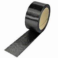 product image: Carbon fibre tape 300 g/m² (unidirectional) 45 mm
