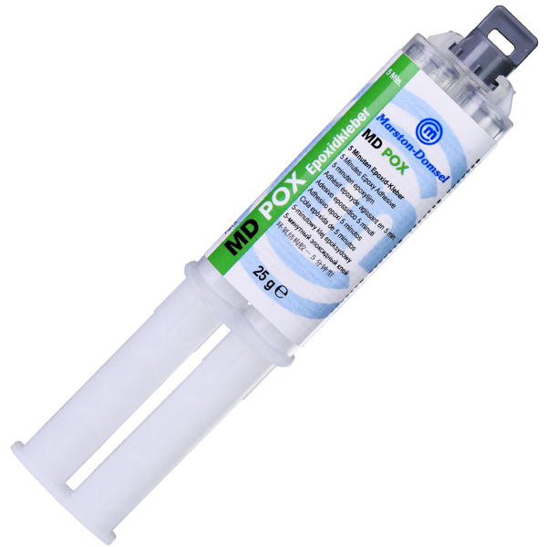 product image: MD POX 5 minutes (MR 1:1) double syringe, 25 g