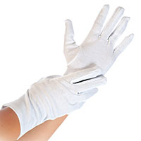 product image: Cotton gloves BLANC