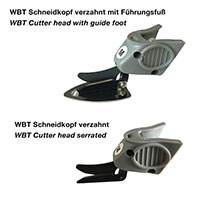 product image: Cutter heads (serrated) for WBT-1 Electric scissors