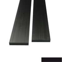 product image: Carbon rectangular rod (50.0 x 10.0 mm)
