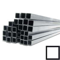 product image: Carbon fibre square tubes pultruded, (20 x 20 / 16 x 16) x 3200 mm (remainder)