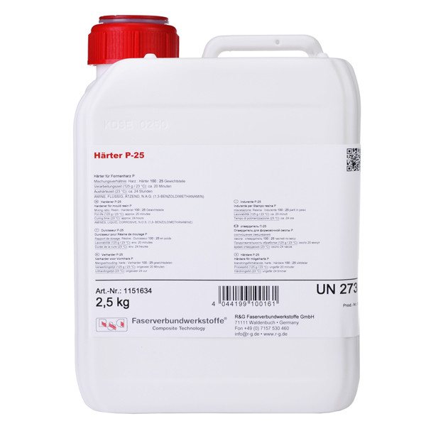 product image: Hardener P-25 (for Mould Resin P / 20 min)