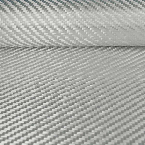 product image 2: Glass roving fabric 580 g/m² (Silane, twill) 100 cm