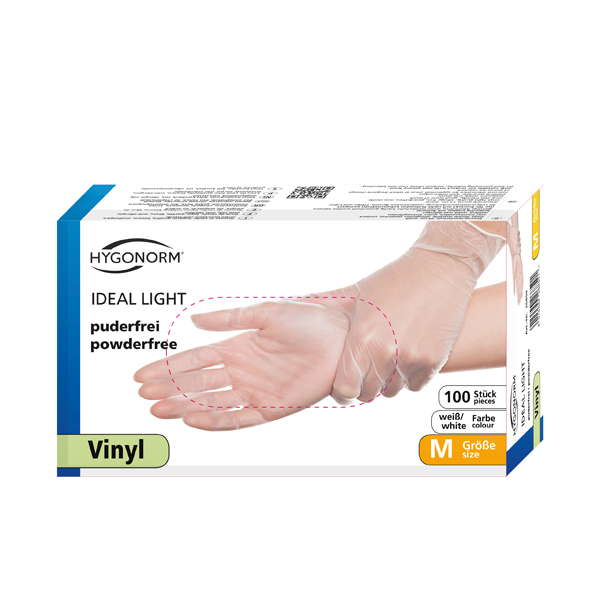 Artikelbild 1: Vinyl-Handschuhe IDEAL LIGHT