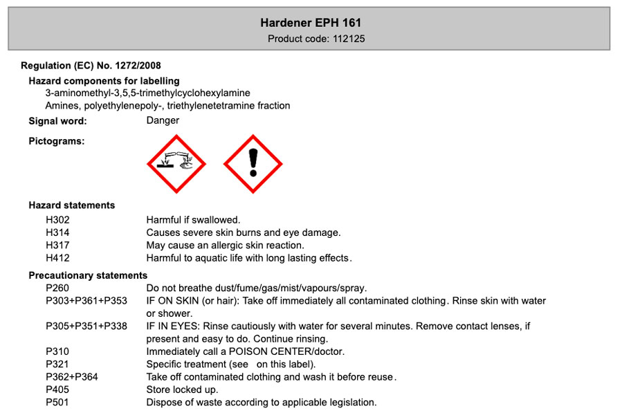 product image 5: Epoxy Resin L + Hardener EPH 161 (90 min)