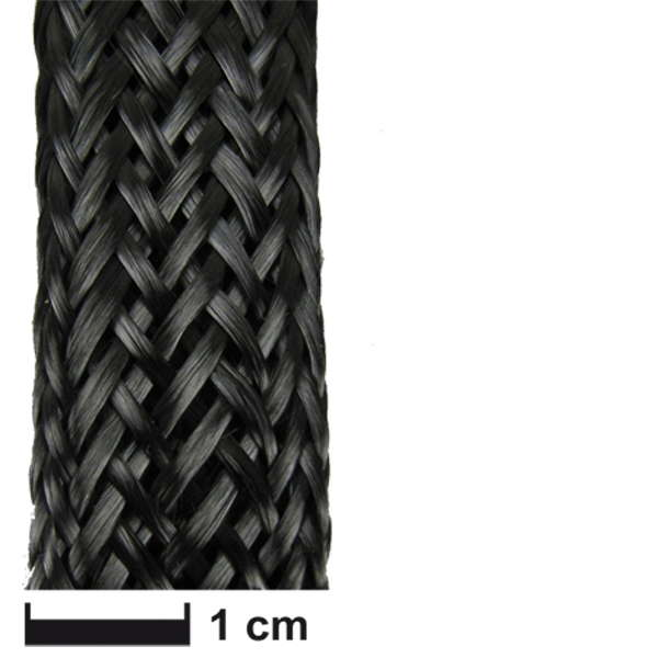 product image 1: Carbon fibre sleeve Ø 18 mm