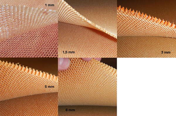 product image 1: Aramid honeycomb 32 kg/m³, 1300 x 2600 mm <br>cell size: 3.2 mm