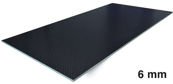 product image 1: Carbon fibre sandwich sheets with Airex® core