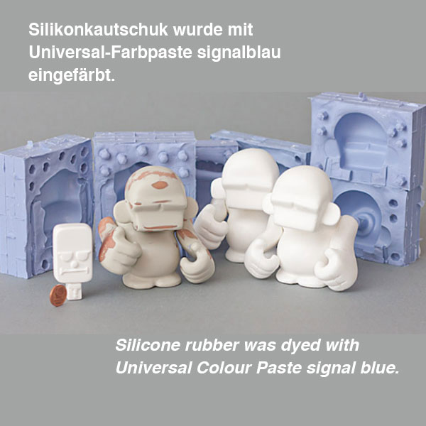 product image 1: Silicone rubber KDSV-10 (set of two components)