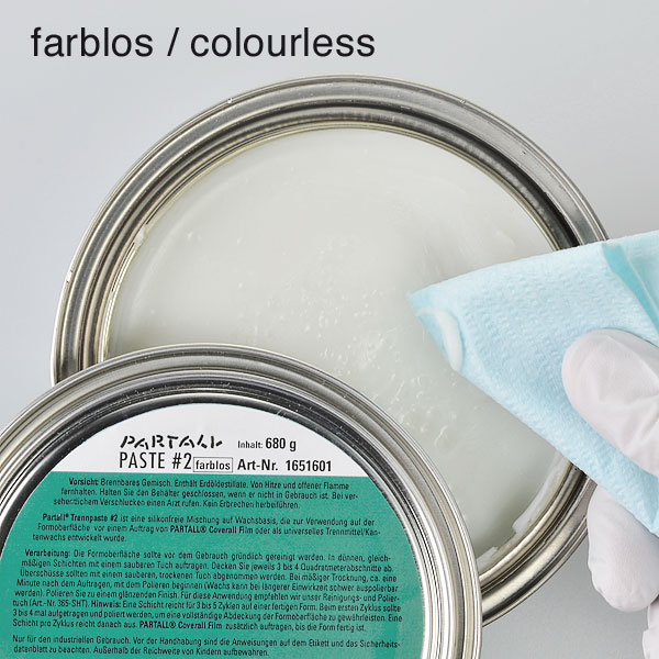 product image 1: PARTALL® Paste #2 (colourless + green), 680 g