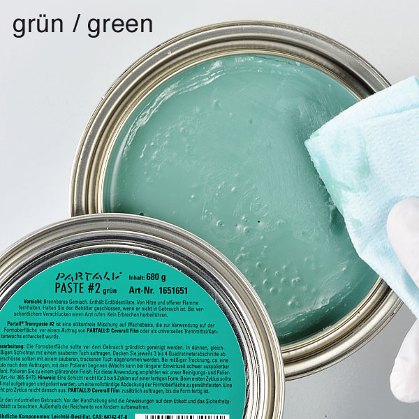 product image 2: PARTALL® Paste #2 (colourless + green), 680 g