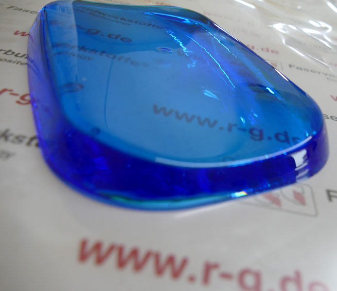 product image 8: Epoxy Casting Resin OCEAN BLUE + Hardener W 300