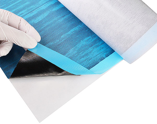 product image 2: UNIPREG® Carbon non-crimp fabric 100, 50 cm