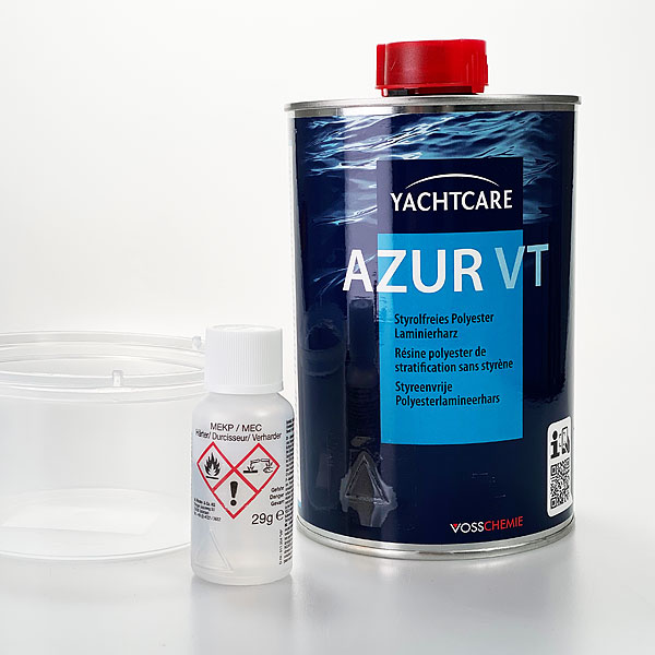 product image 1: YC AZUR VT (Polyester laminating resin, styrene free, sale also to private)