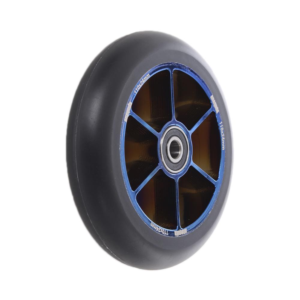 Anaquda Blade Stunt Scooter Wheel Rolle 110 mm Black//Blackchrome