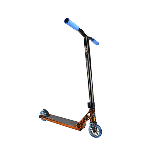 Blue Laser Grit Elite 2019 Complete Stunt Scooter Satin Black