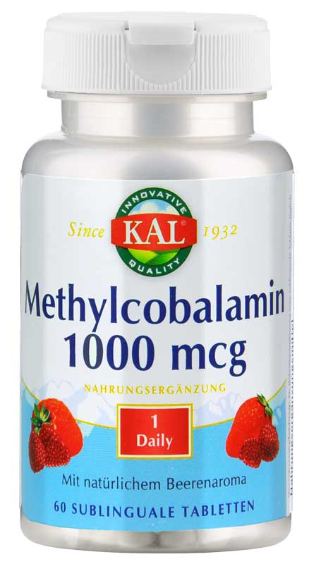 Methylcobalamin (Vitamin B-12) 1000 mcg von KAL