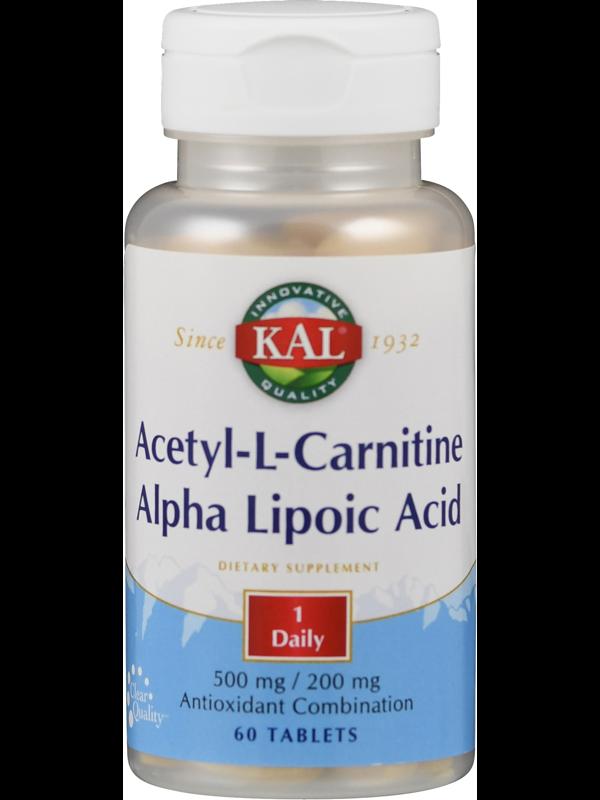 Acetyl-L-Carnitin mit Alpha-Liponsäure von KAL