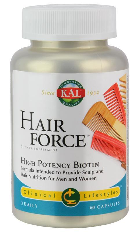 Hair Force von KAL: Nährstoffe für Kopfhaut und Haar