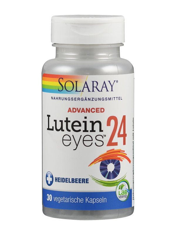 Lutein-Eyes Advanced (24 mg) von Solaray