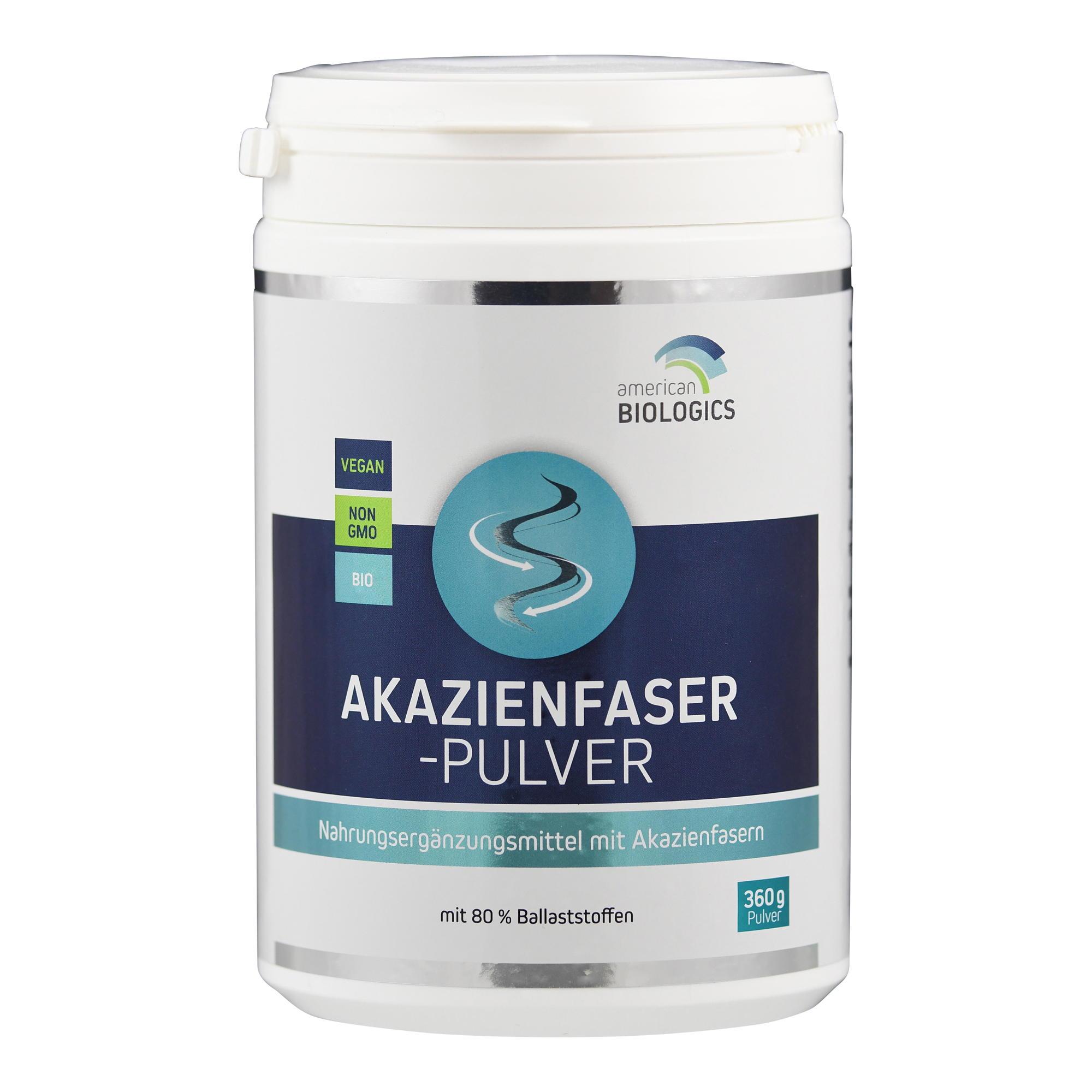 Akazienfaser-Pulver (Bio) von Supplementa