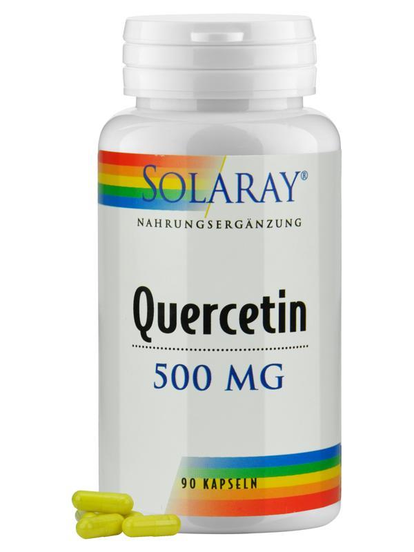 Quercetin von KAL: natürliches Bioflavonoid gegen Allergien und Co.