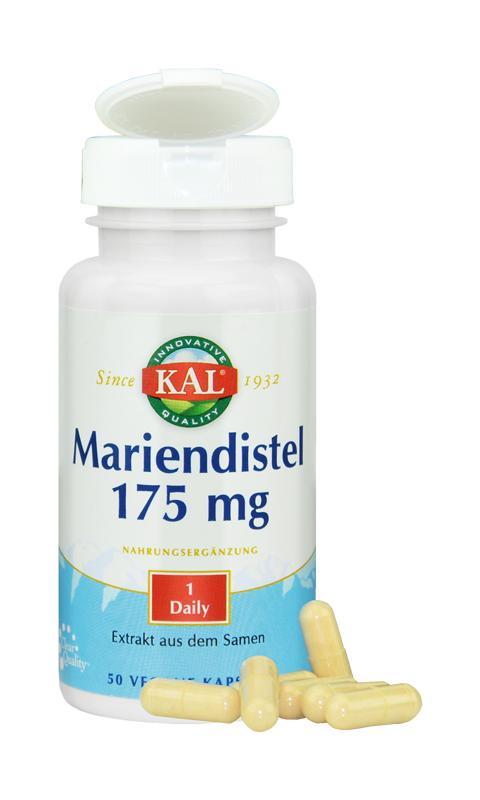 Mariendistel-Extrakt mit Silymarin, von KAL