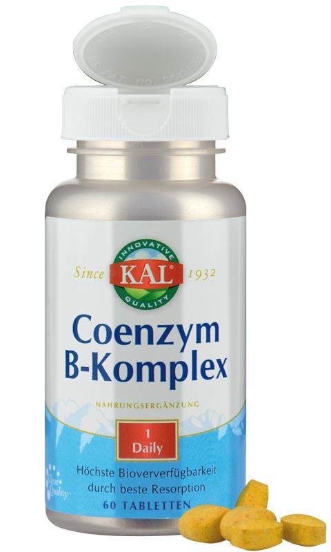 Coenzym-B-Komplex von KAL für beste Resorption